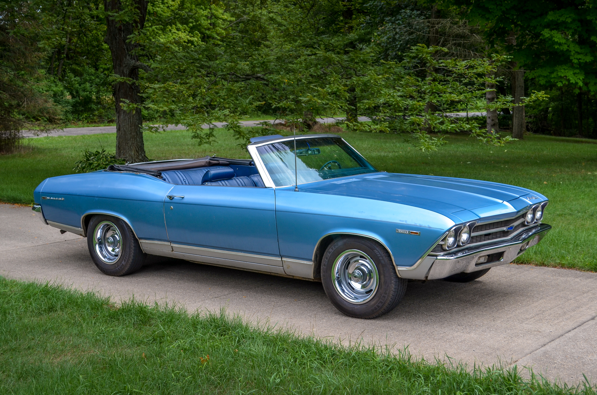1969 Chevelle Convertible » Blue Collar Muscle Cars & Custom